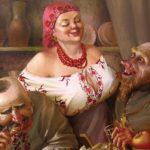 Анекдоты о сельском счастье: вкусная еда, крепкая выпивка  и горячая любовь