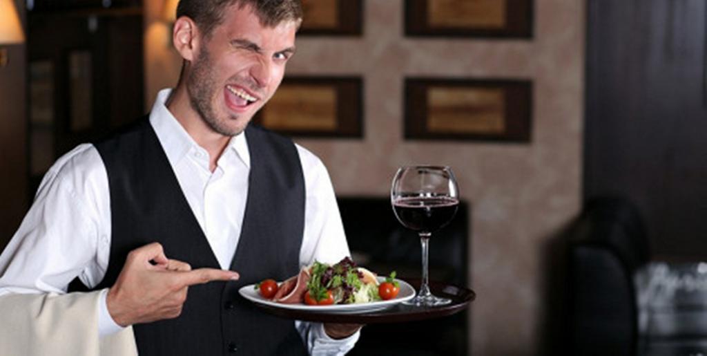 Анекдоты ресторанные о официантах, блюдах и их подаче. 2 серия