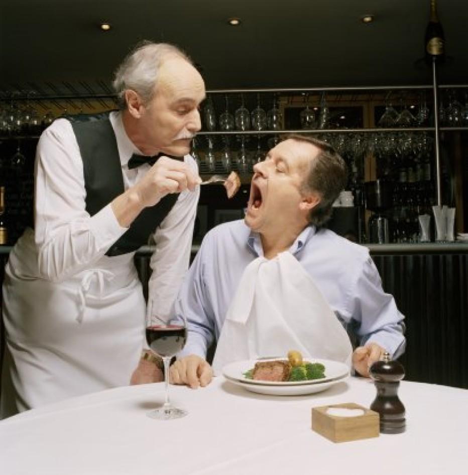 Анекдоты ресторанные о официантах, блюдах и их подаче. 3 серия