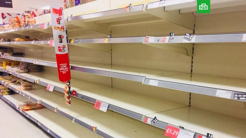 Полупустые полки продовольственных супермаркетов: Британия пожинает горькие плоды планомерного истребления фермерских хозяйств