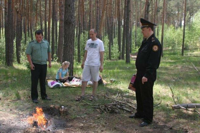 Идете отдыхать в лес? Будьте бдительны и не дайте себя оштрафовать