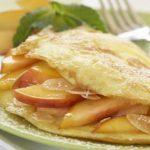 Омлет со свежими яблоками: 4 рецепта 19 века